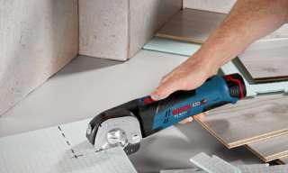 Mit dem Bosch Allesschneider wird das PVC schneiden zum Kinderspiel