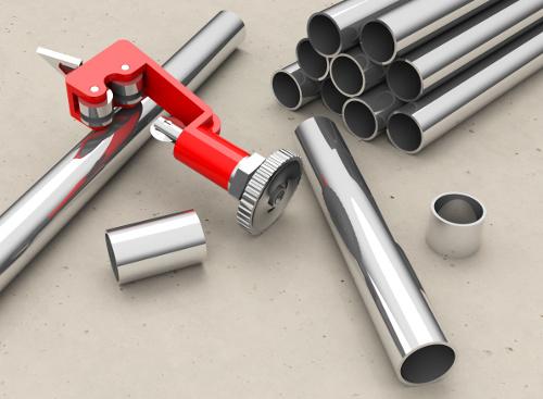 Rohrschneider - Mit diesem Werkzeug gelingt das Kupferrohr schneiden immer