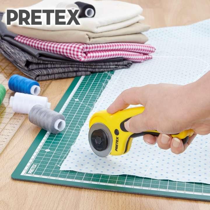 Pretex Stoff Rollschneider Test - Papier schneiden leicht gemacht